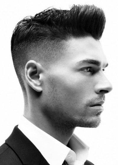 Shaved Sides Men's Haircut
