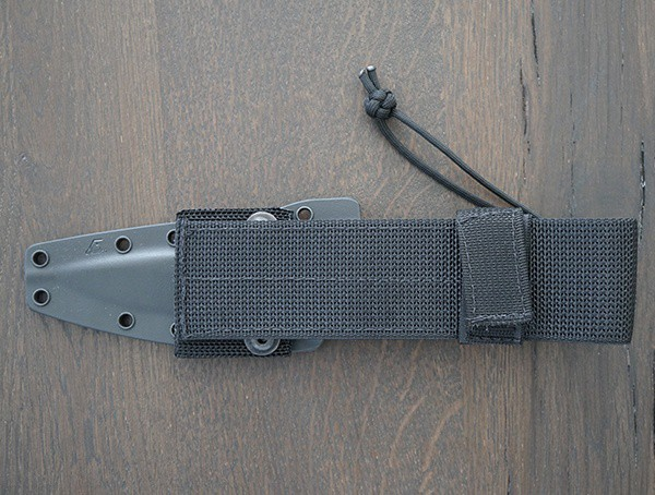 Sheath Rear Spartan Blades Harsey Tt Knife With Belt Attachment