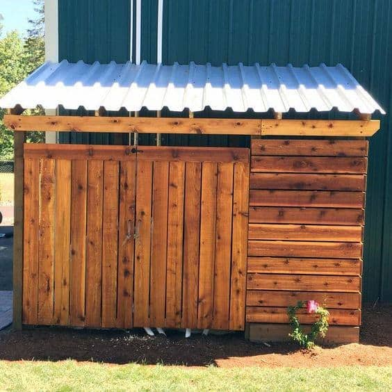 Shed For Pool Equipment