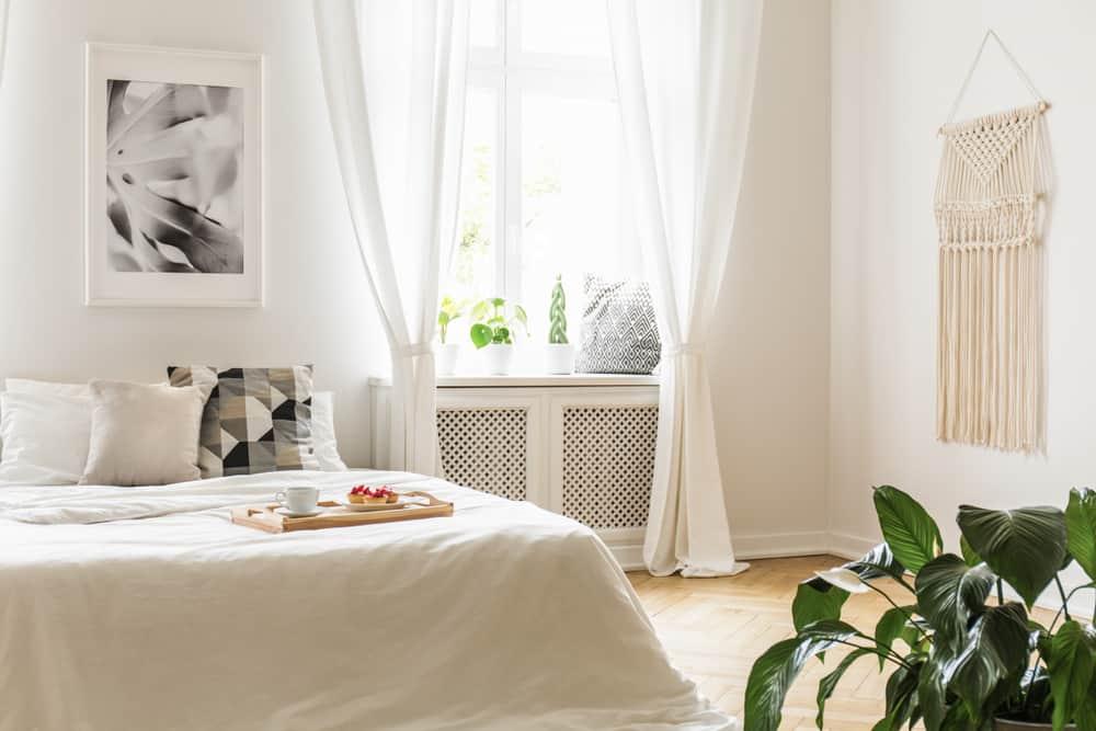Sheer Curtains Window Treatments Ideas 1