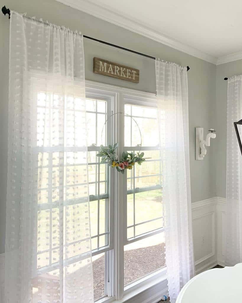 Sheer Curtains Window Treatments Ideas Emilywoodsathome