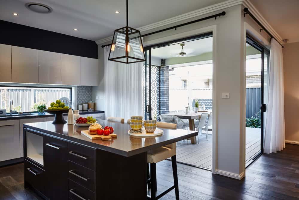 sheer kitchen curtain ideas 1
