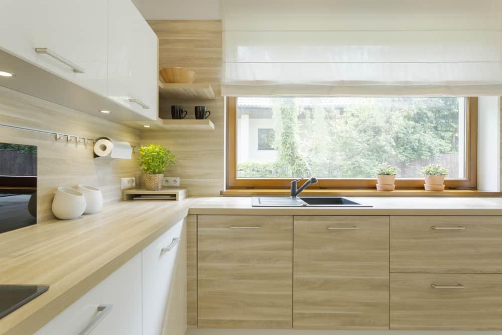 sheer kitchen curtain ideas 2