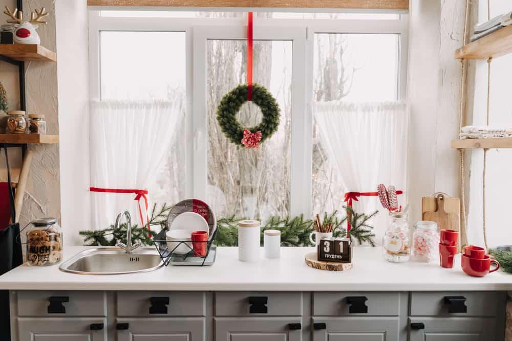sheer kitchen curtain ideas 3