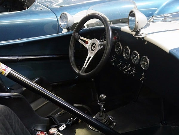 Shelby Cobra Interiors