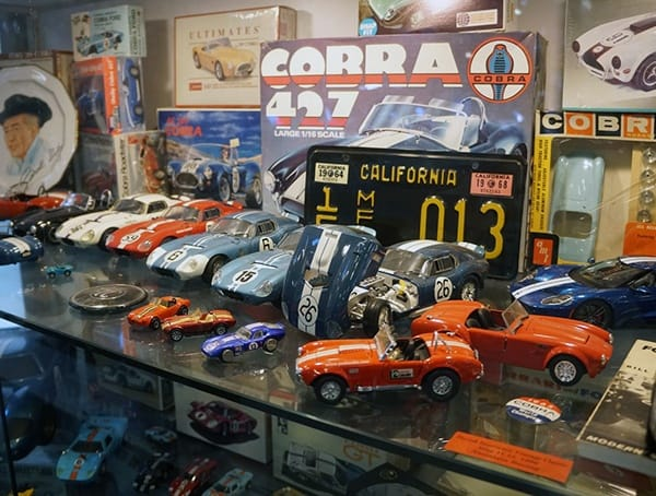 Shelby Model Car Collection
