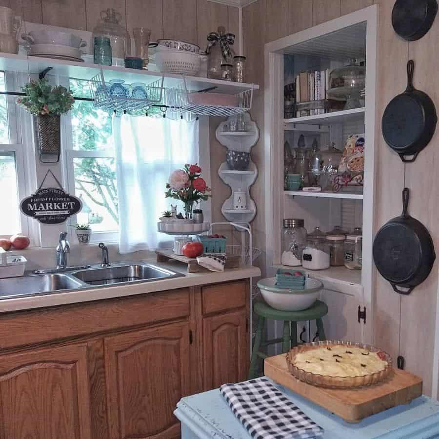 shelf kitchen window ideas myjunklife_