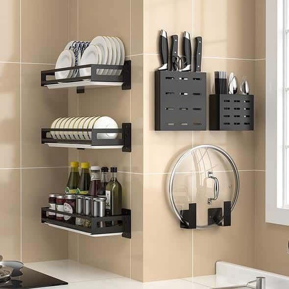 shelve kitchen organization ideas reveltren
