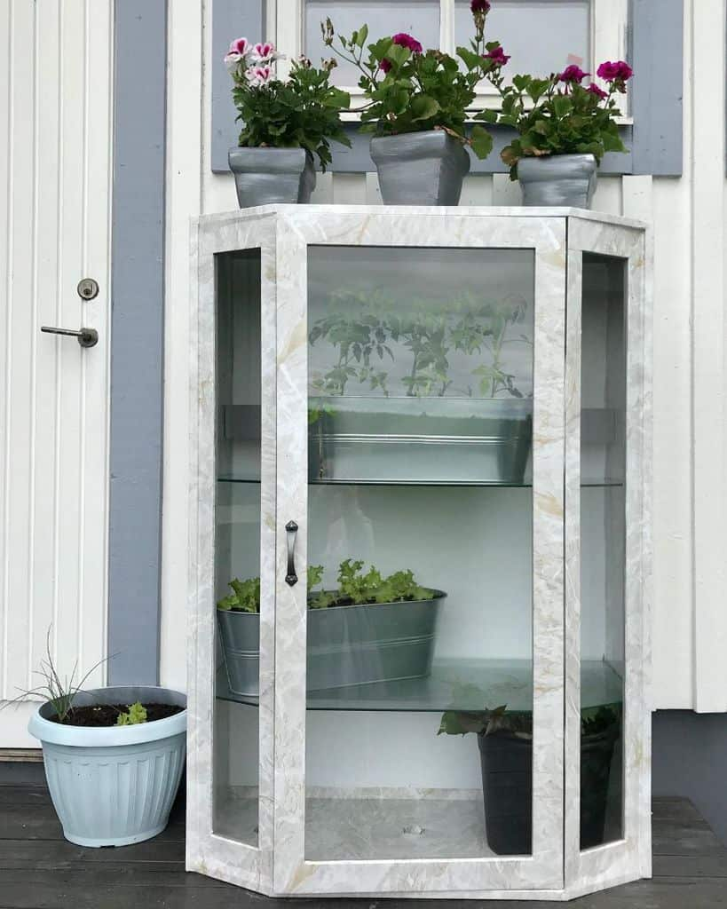shelves greenhouse ideas homedecordiyflips