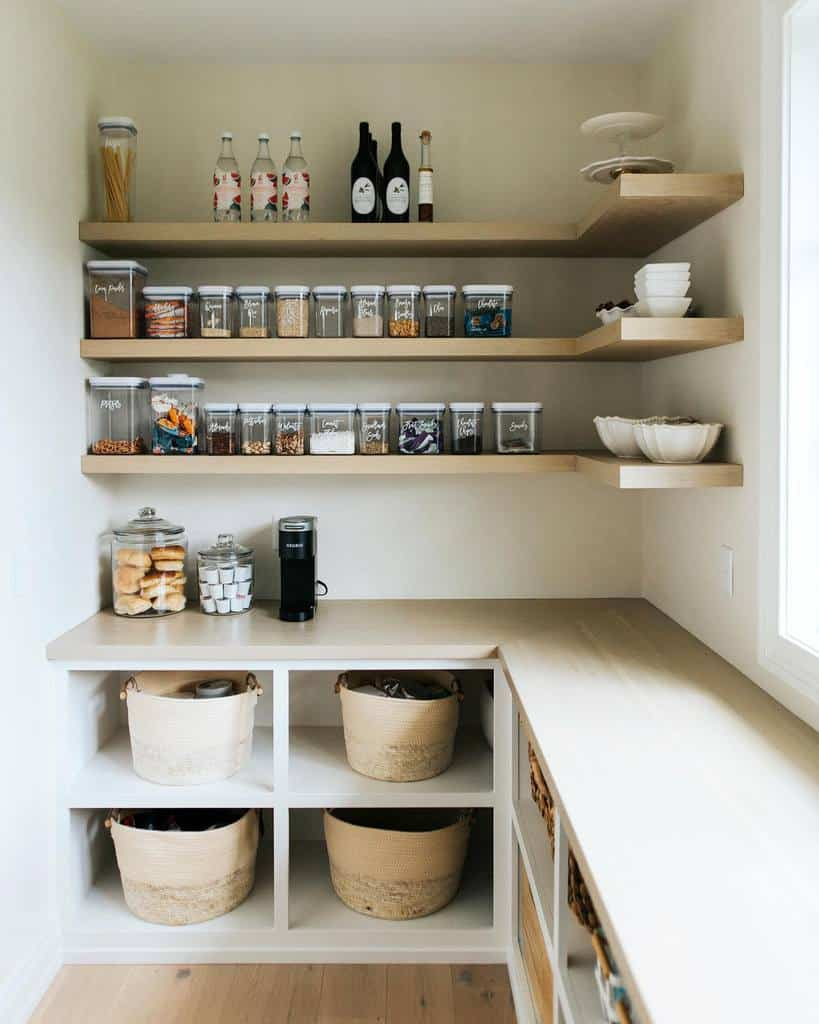 shelves pantry organization ideas ourfrenchmodernhome
