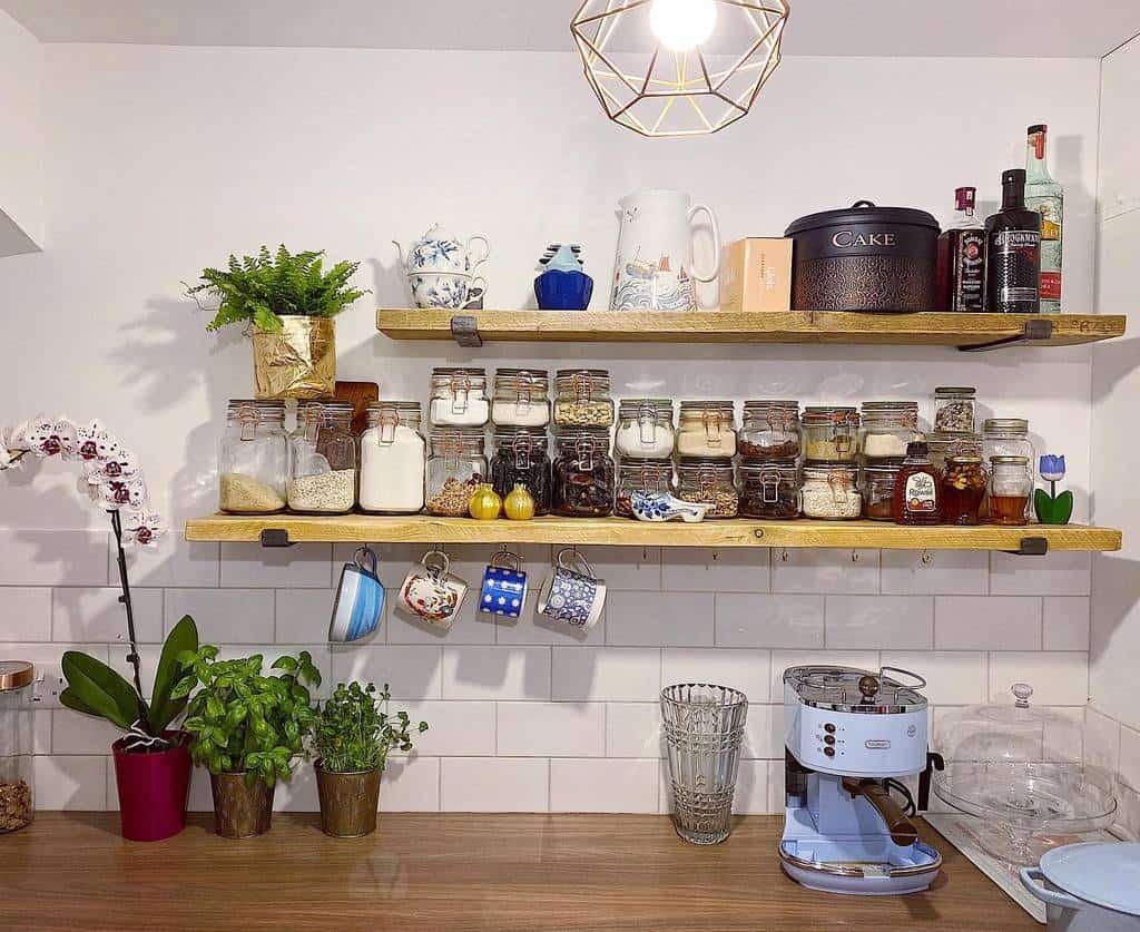shelves pantry organization ideas thelotusgurl