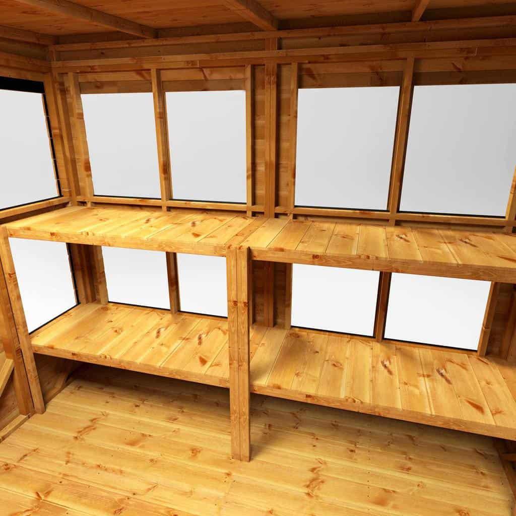 shelves shed storage ideas powersheds
