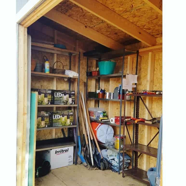 shelves shed storage ideas urbanshedconcepts