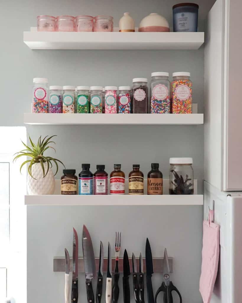 shelves small pantry ideas nikkiw12