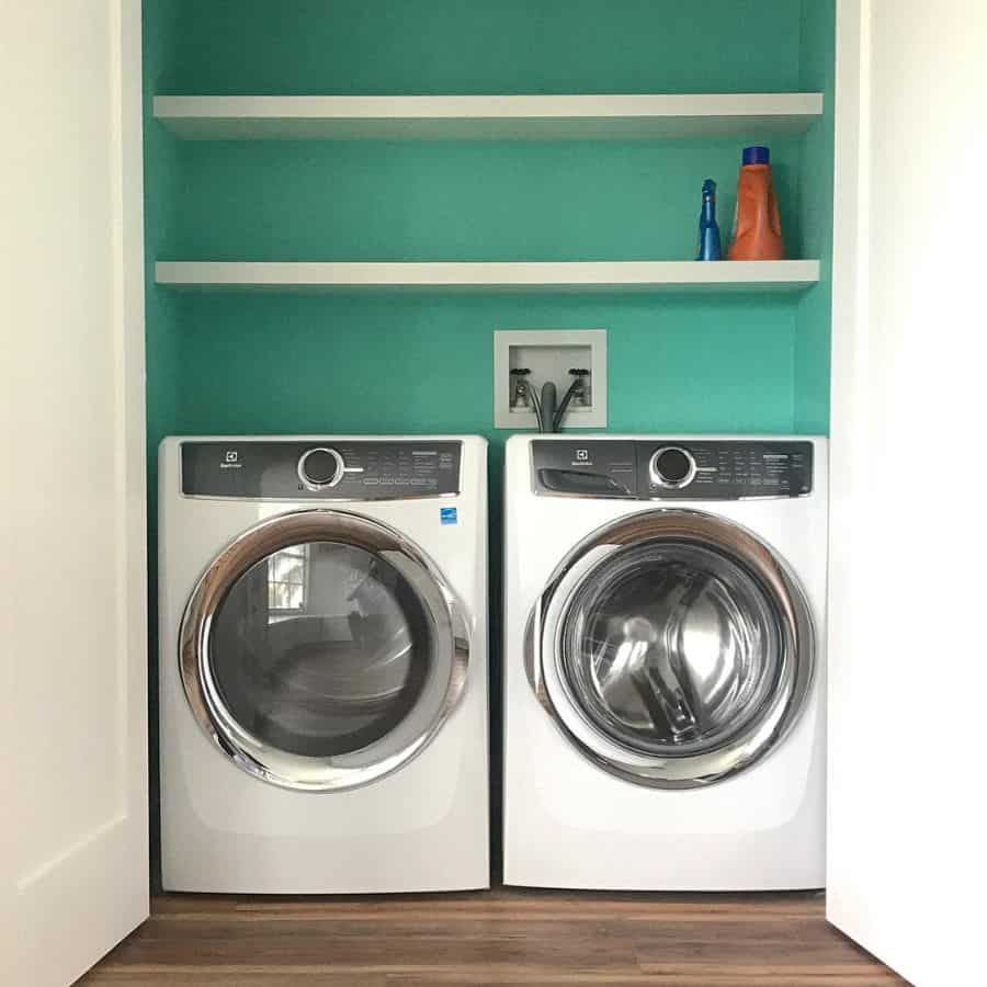 shelving laundry closet ideas elementsdesignco