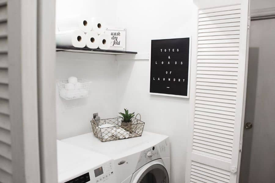 shelving laundry closet ideas hargrovehouse