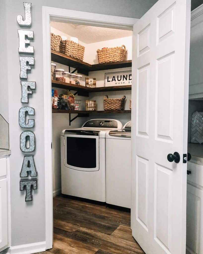 shelving laundry closet ideas serene_court