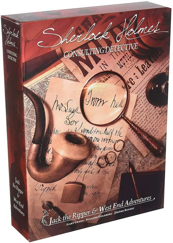 sherlock holmes consulting detective jack the ripper & west end adventures strategy board game