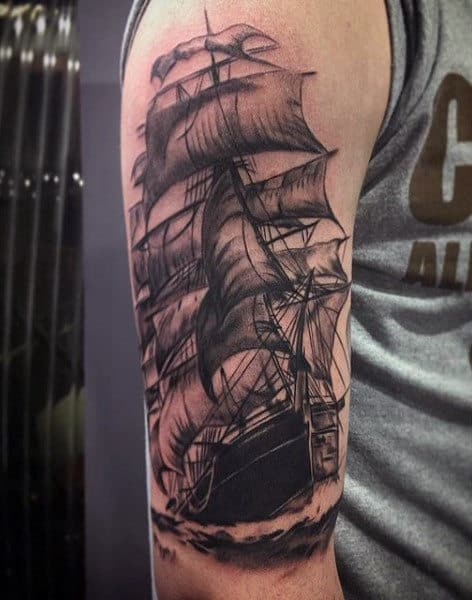 Ship Tattoo Meaning For Men