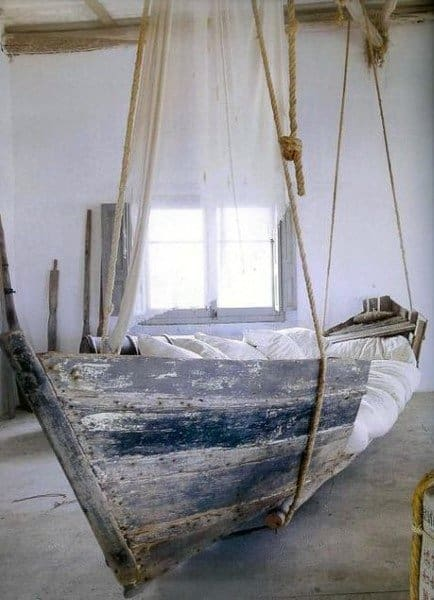 Ship Themed Hanging Bed Ideas