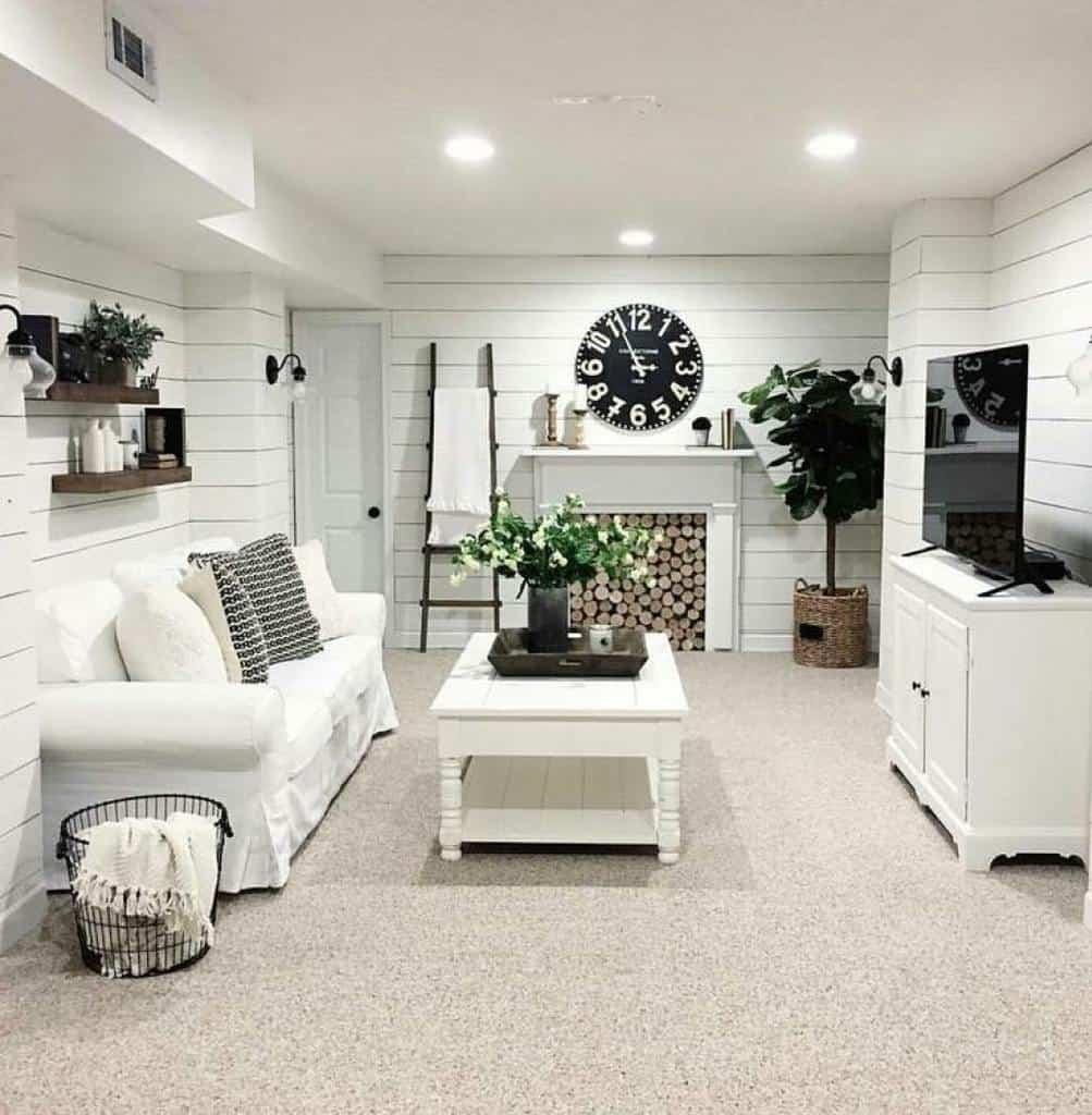 shiplap basement wall ideas wonderfulhome_decor