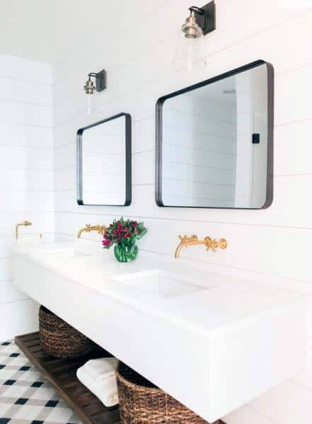 Shiplap Bathroom Interior Ideas