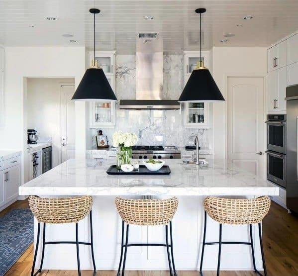 Shiplap Simple Kitchen Ceiling Ideas