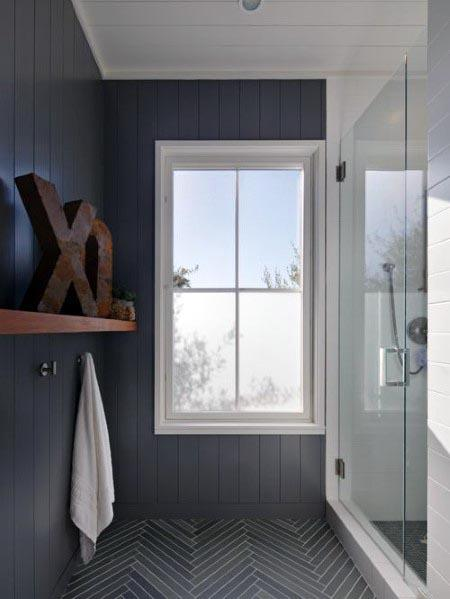 Shiplap Walls Grey Bathroom Designs