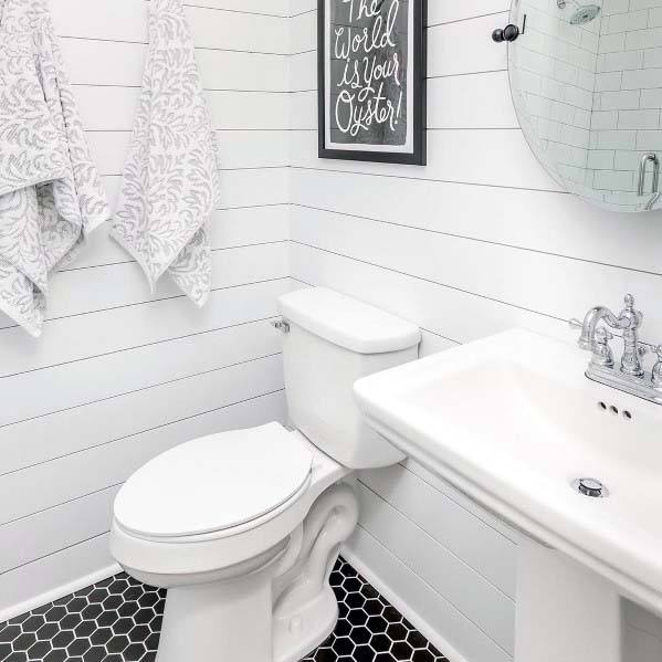 Top 60 Best White Bathroom Ideas