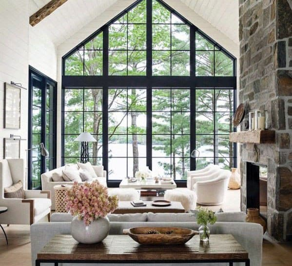 Top 70 best vaulted ceiling ideas high vertical space - How to decorate high walls with cathedral ceiling ...