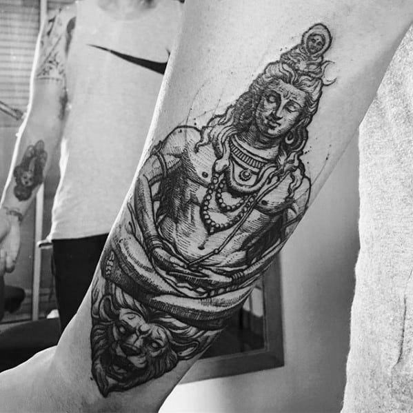 Top 63 Shiva Tattoo Design Ideas 2020 Inspiration Guide