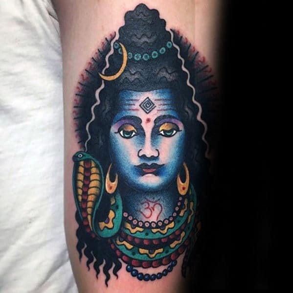 60 Shiva Tattoo Designs For Men