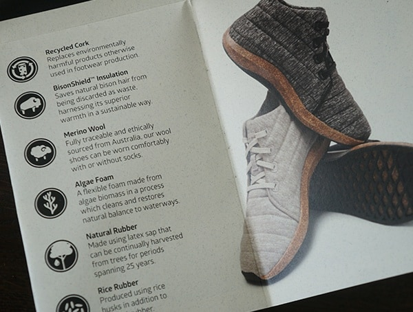 Shoe Features Sole X United By Blue Jasper Wool Eco Chukka