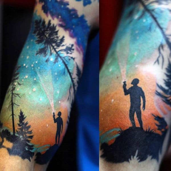 Shooting Star Tattoos For Men