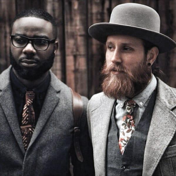 Short Beard Inspiration For Black Gentlemen