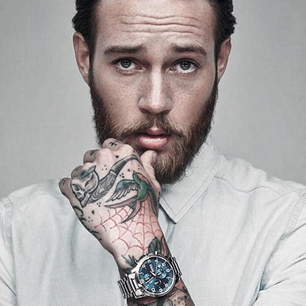 Short Beard Styles Male