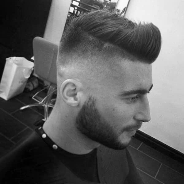 Short Faux Hawk Mens High Fade Haircuts