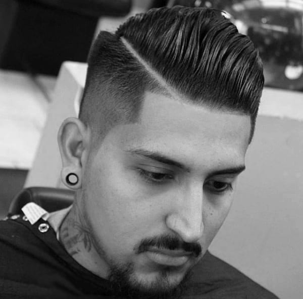 Short Hair Fades Haircut For Men