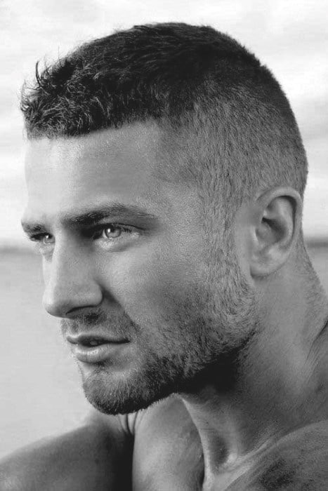 Incredible Top 50 Best Short Haircuts For Men Frame Your Jawline Short Hairstyles Gunalazisus