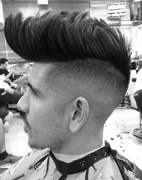Short Hair Undercut Men