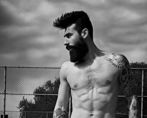 Brilliant 50 Hairstyles For Men With Beards Masculine Haircut Ideas Short Hairstyles Gunalazisus