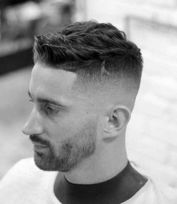 Short Haircut Low Fade For Men