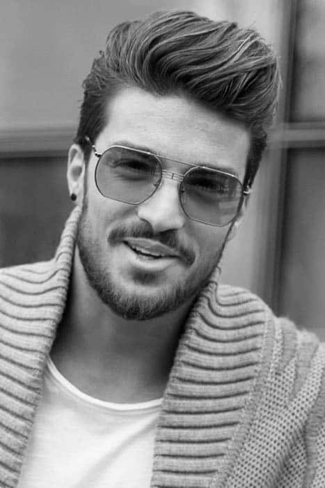 Astonishing 75 Men39S Medium Hairstyles For Thick Hair Manly Cut Ideas Short Hairstyles For Black Women Fulllsitofus