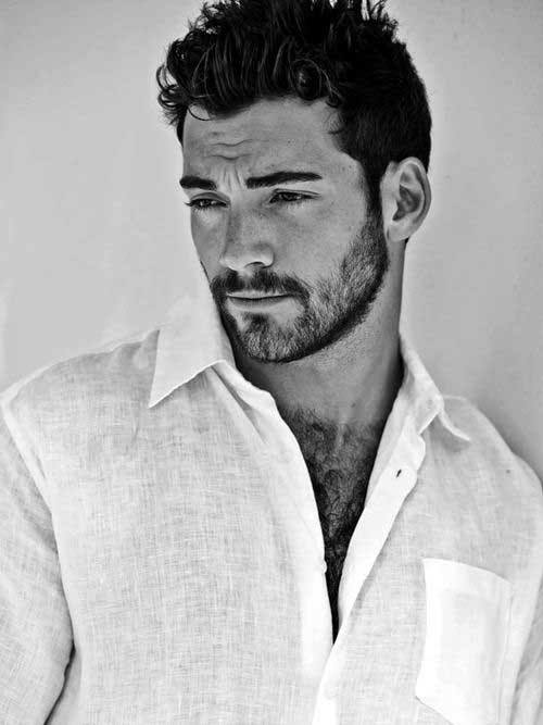 Short Haircuts For Men With Thick Hair