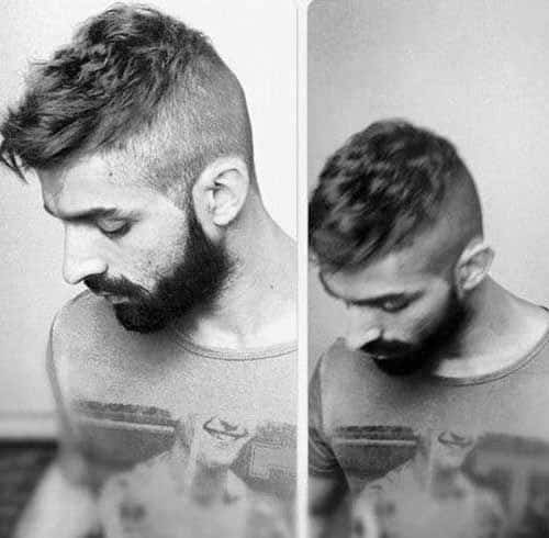 Short Haircuts For Thick Hair Men