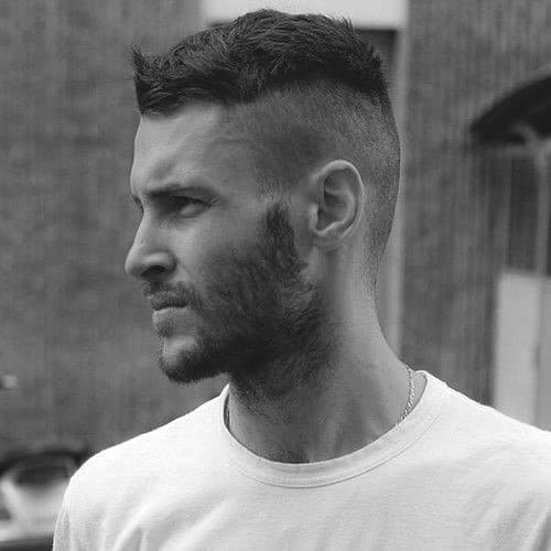 Short Hairstyle For Men Undercut