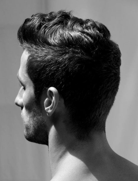 Short Hairstyles Thick Wavy Hair For Men