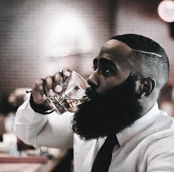 Short Hairstyles With Beard Design Ideas For Black Men