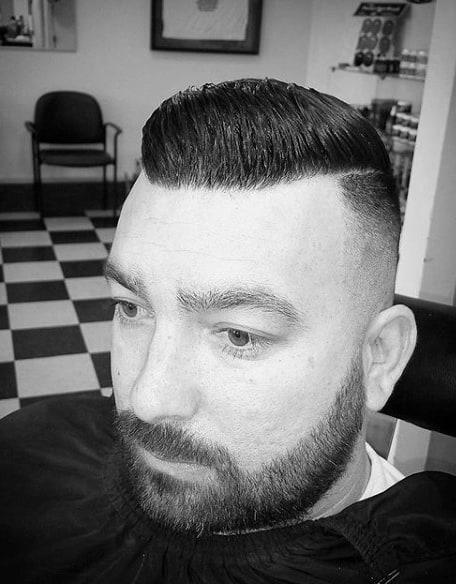 Short Length Classic Mens Haircuts Comb Over