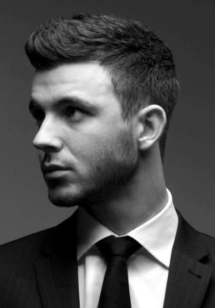 Short Length Guys Classy Haircut Inspiration